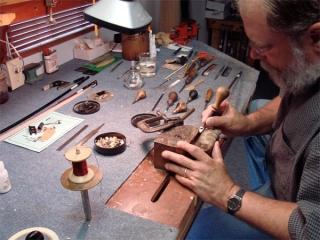 Fred repairing a bridge